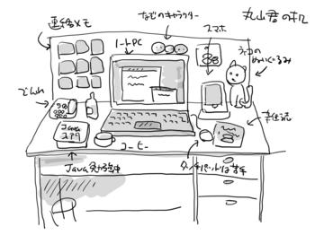 丸山君の机.png